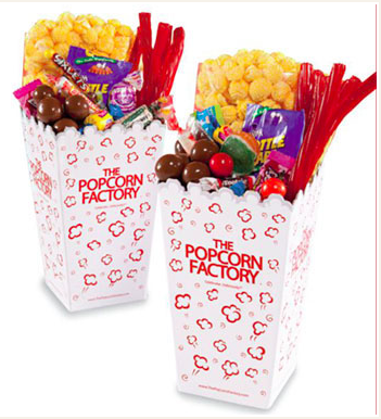 Movie Night Scoop Boxes - Set of 2
