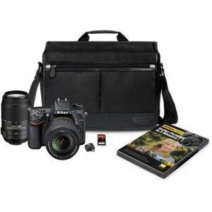 Nikon D7100 24.1 MP DX-Format CMOS Digital SLR Camera Bundle