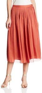 Rebecca Minkoff Women's Flight Pleated Flared Midi Skirt