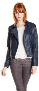 Sanctuary Clothing Women's Leather Racer Jacket