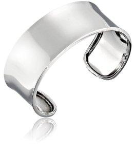 Sterling Silver Wide Polished Cuff Bracelet
