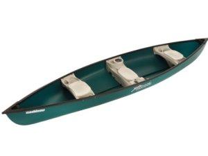 Sun Dolphin Canoe, 15.6-Feet, Green