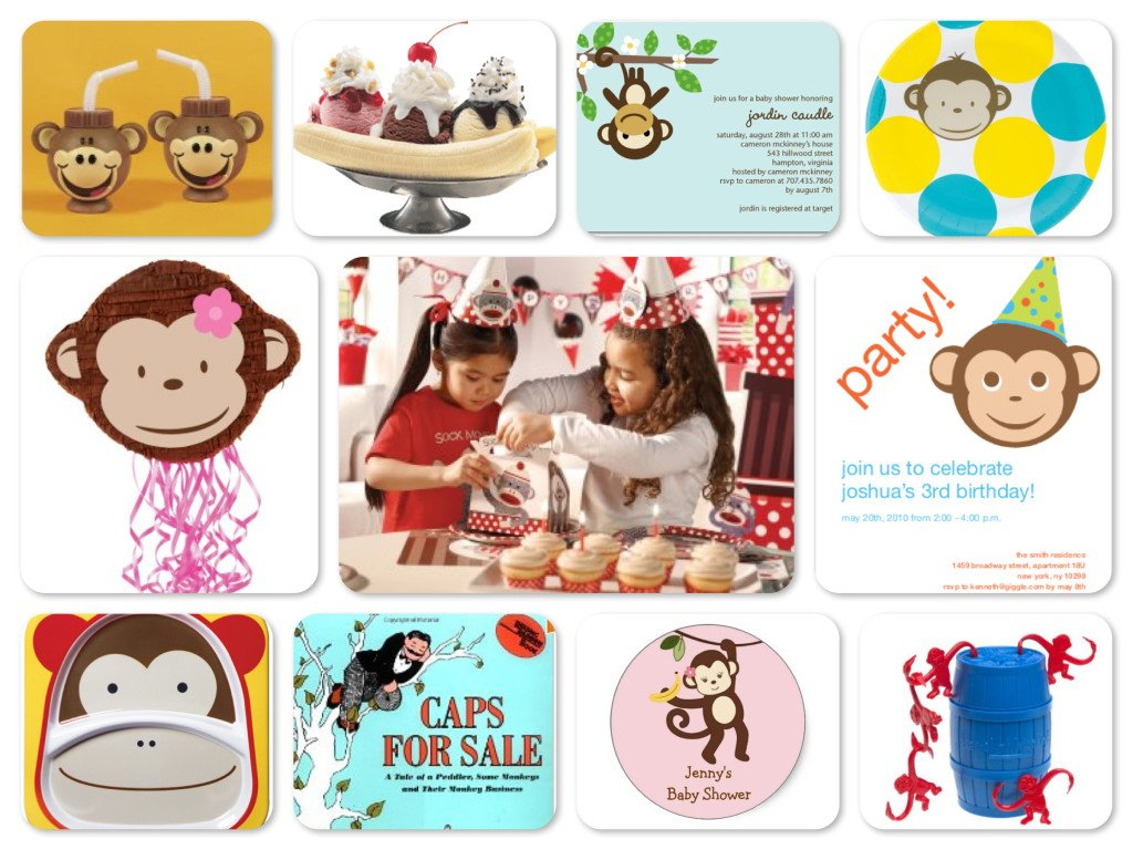Just Monkeys Birthday Party Ideas, Monkey Around Party Theme Planning, Ideas & Supplies