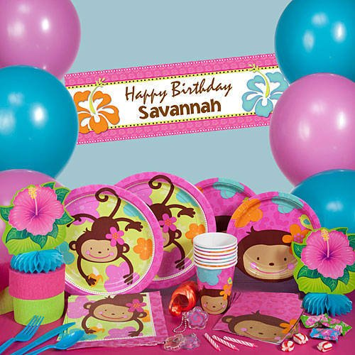 Monkey Love Party Supplies