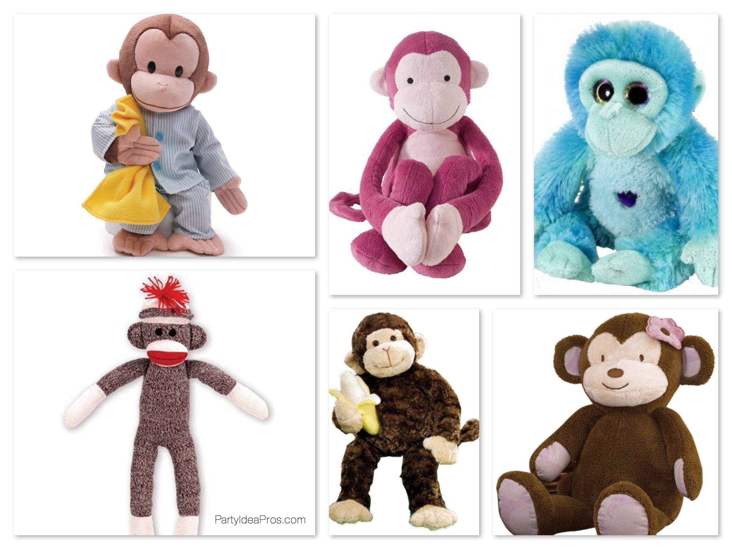 Plush Monkeys