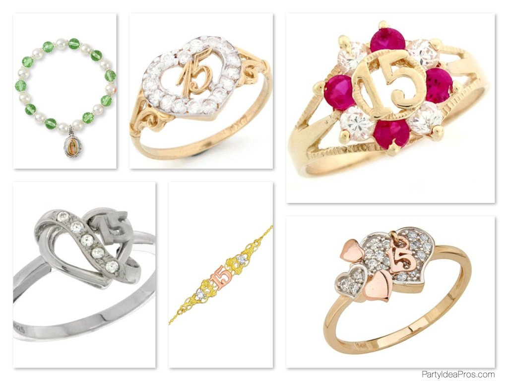 Quinceanera Rings & Bracelets