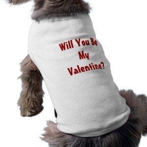Valentine's Day Dog Tee