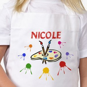 Art Time Personalized Kid's Craft Apron