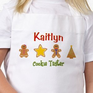 Lil' Christmas Baker©Personalized Apron