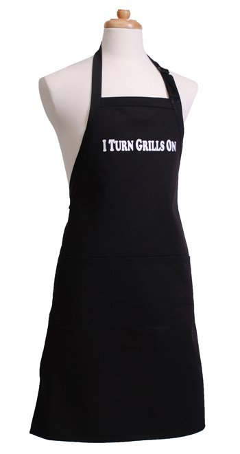 Mens Black Apron