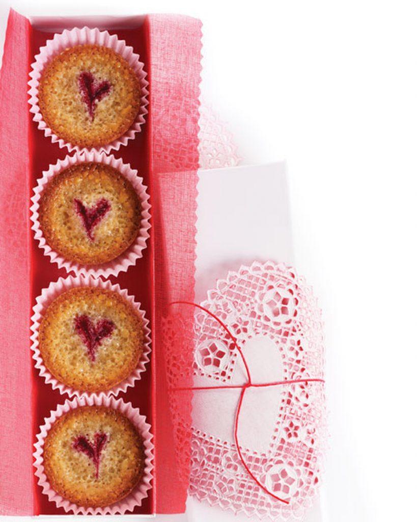 Raspberry-Almond Financiers