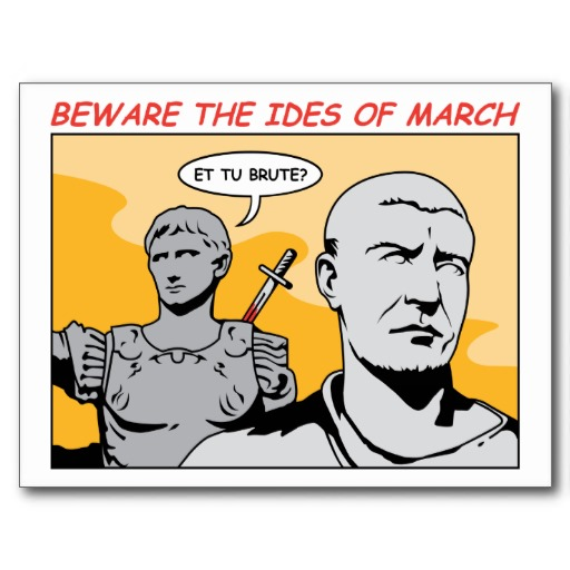 Veni. Vidi. Vici. (Ides of March Party)