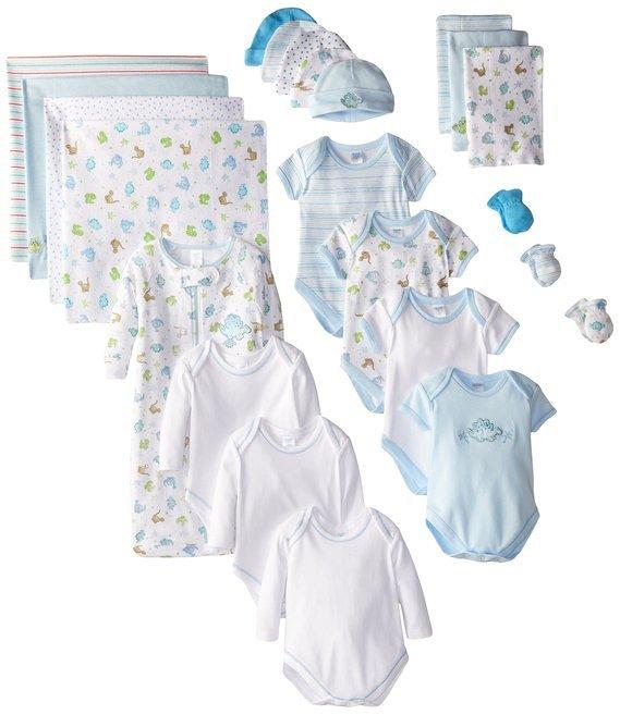 Baby Boy Blue Organic Newborn Sacks