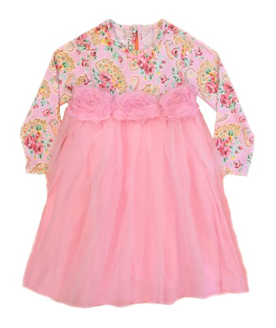 Tralala Baby Girls Princess Rose Toddler Dress
