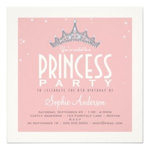 British royal wedding party ideas princess british theme pretty tiara princess birthday party invitation filmwisefo Gallery