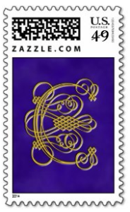Fancy Monogram stamp