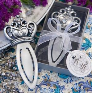 British Royal Wedding Party Ideas, Crown Bookmarks