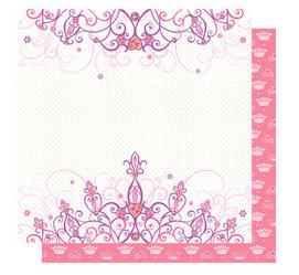 Pink Crown place mats