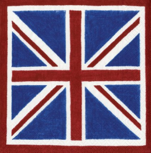 British Flag Napkins