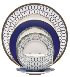 Vera Wang by Wedgwood Imperial Scroll Five-Piece Place Setting