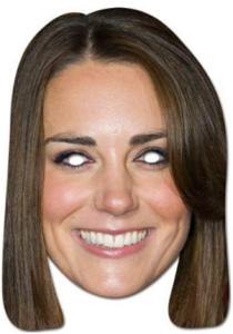 Kate Middleton Mask