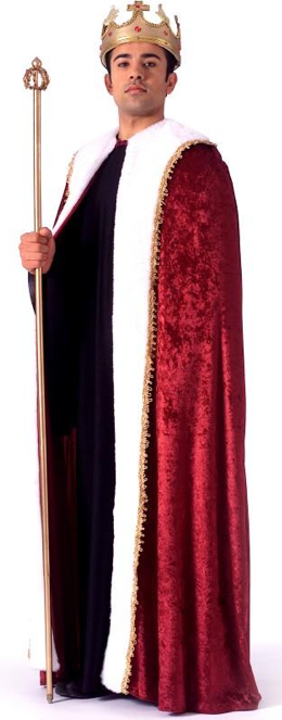 King Robe Adult Costume