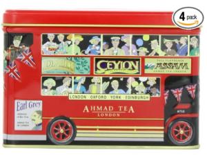 Ahmad London Bus Tin, English Afternoon Tea