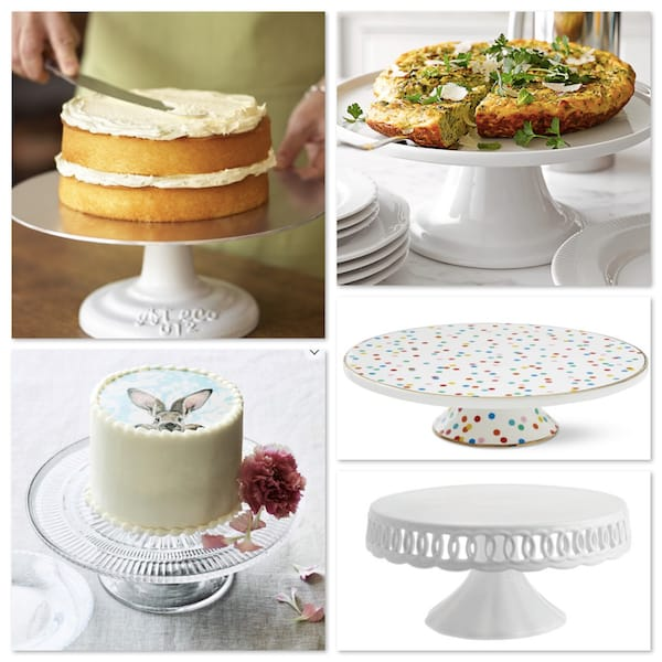 Wedding Gift Cake Plates
