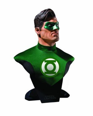 Green Lantern Scale Bust