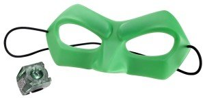 Green Lantern Mask & Power Ring Set