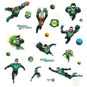 Green Lantern Wall Decals