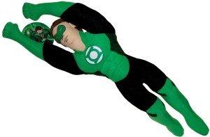 Plush Flying Green Lantern