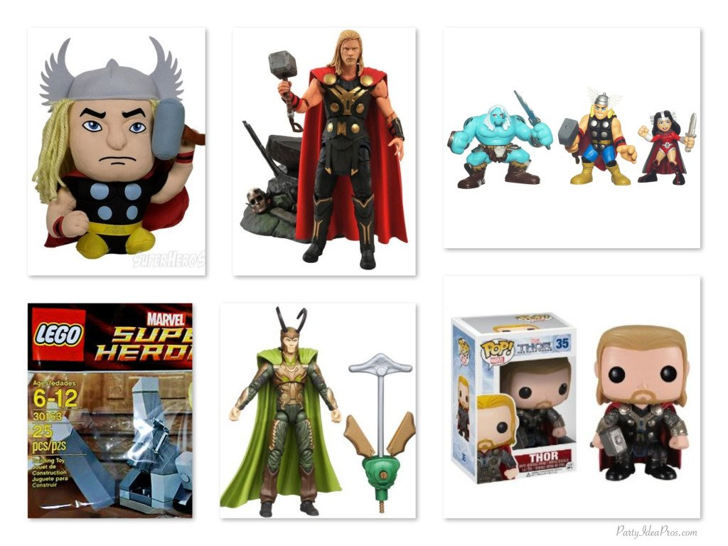 Thor Toys, Plushies & Action Figures