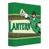 green lantern logo binders
