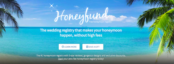 Honeyfund Honeymoon Registry