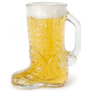 Boot Shaped Stein
