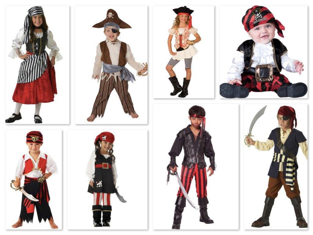 Childrens Pirate Costumes