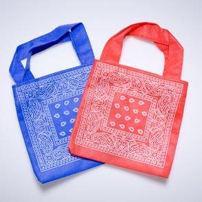 Cowboy Bandana Print Favor Bags