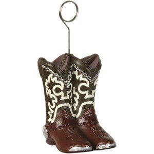 Cowboy Boots Place Card Holder