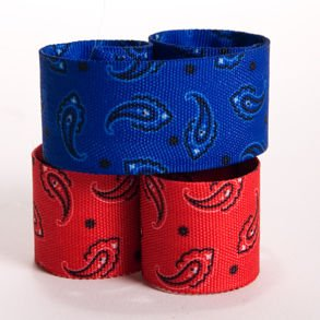 Cowboy Print Slap Bracelets