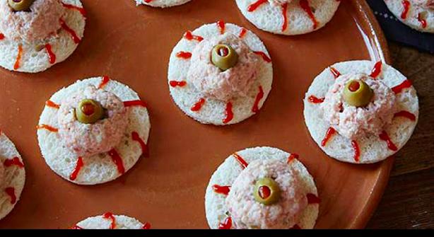 Deviled-Ham Eyeball Sandwich