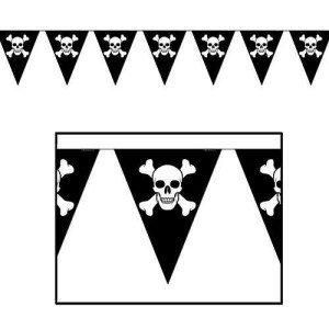 Jolly Roger Pennant Banner