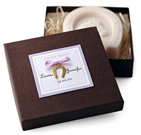 Lucky Horse Shoe Soap Favor