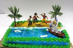 Pirate Ship Pirate Revenge Cake Decoration Cake Topper