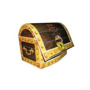 Pirate Treasure Chest Centerpiece