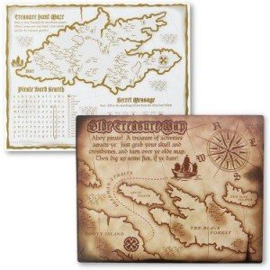 Pirates Activity Placemats
