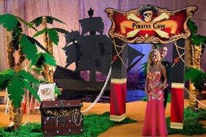 Pirates Cove Decorations