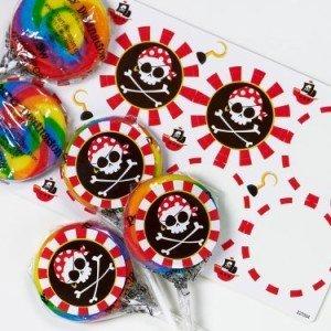 Pirates Lollipop Favor Kit