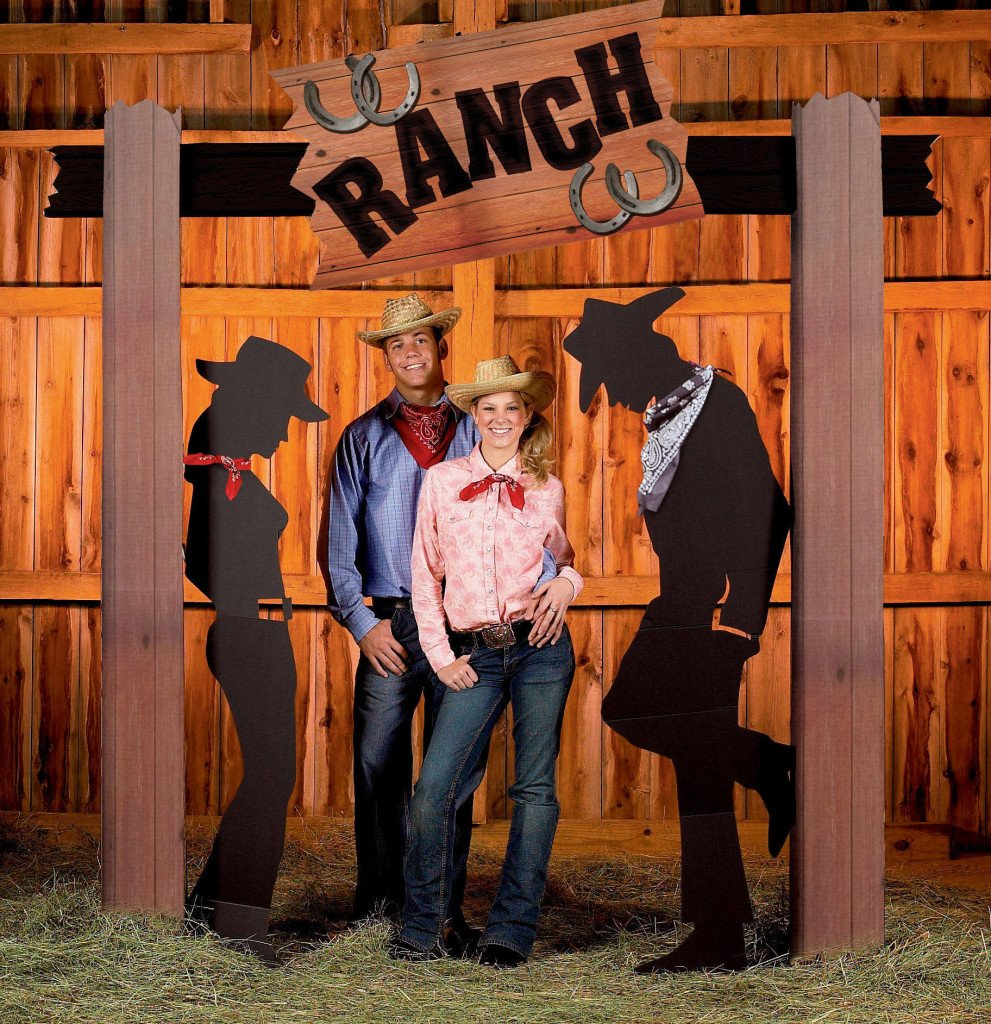 WESTERN BOOT ARCH WESTERN ENTRANCE & Western Themed Cowboy Party Planning Ideas u0026 Supplies ...