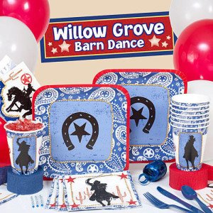 Western Lasso Cowboy Party Supplies